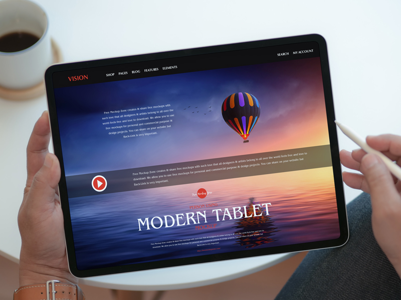 Free-Person-Using-Modern-Tablet-Mockup