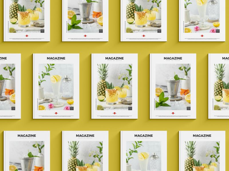 Free-Top-View-Magazine-Cover-Set-Mockup