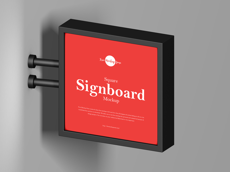 Free-Square-Signboard-Mockup-600