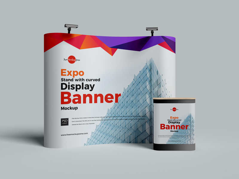 Free-Expo-Stand-With-Curved-Display-Banner-Mockup-2