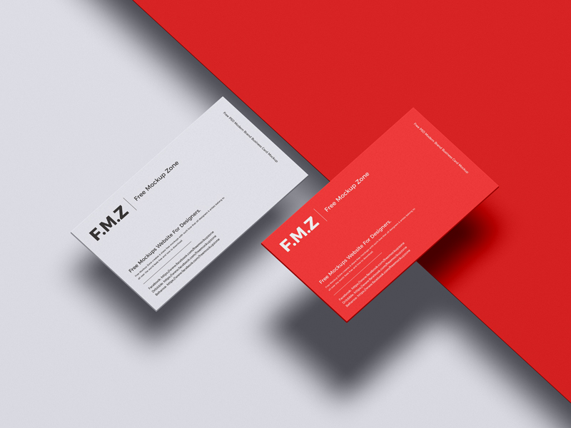Free-PSD-Modern-Brand-Business-Card-Mockup-600