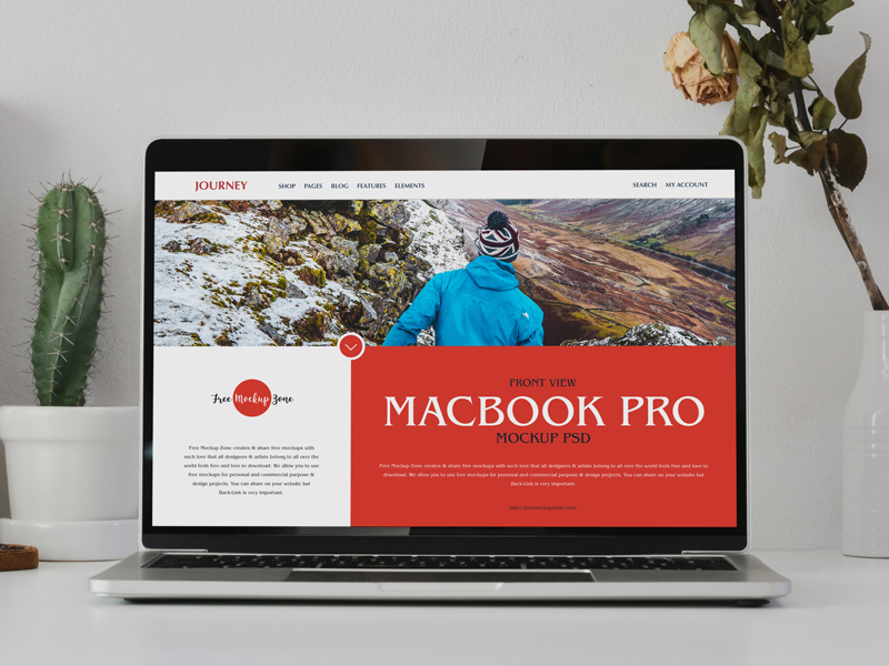 Free-Front-View-Macbook-Pro-Mockup-PSD