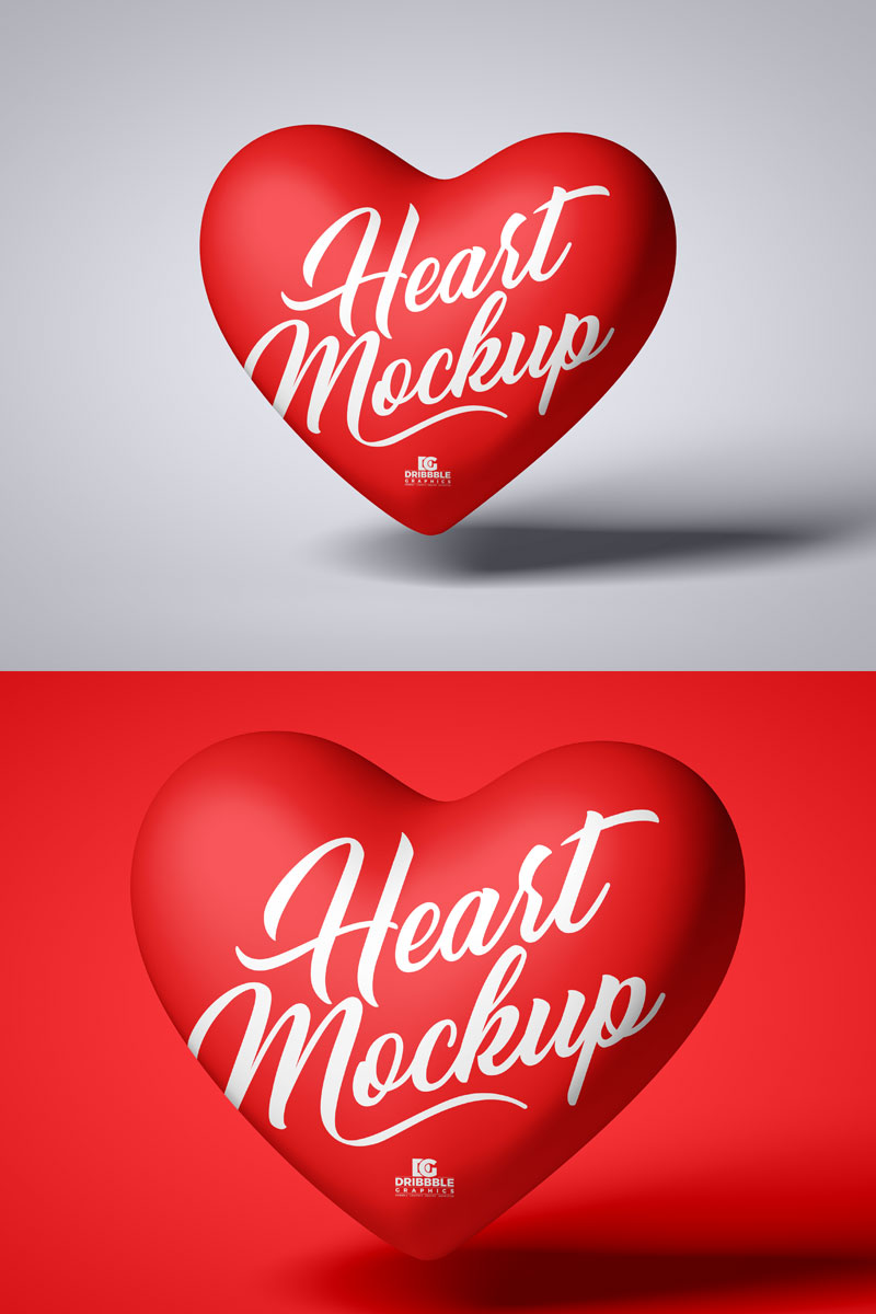 Free-Floating-Heart-Mockup