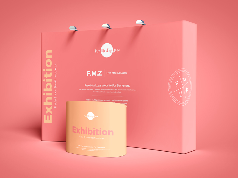 Free-Exhibition-Trade-Show-Booth-Mockup