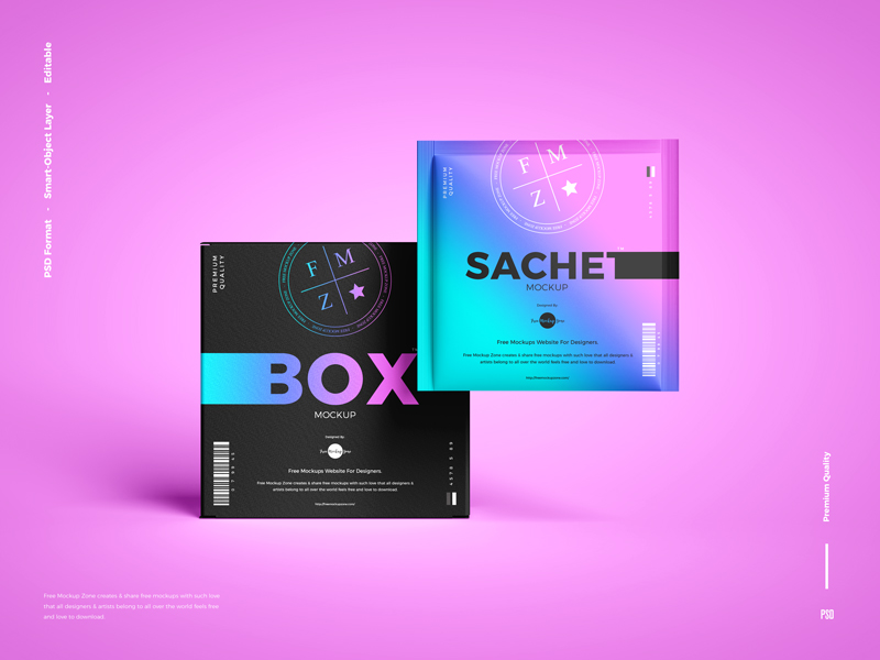 Free-Sachet-With-Box-Packaging-Mockup-600