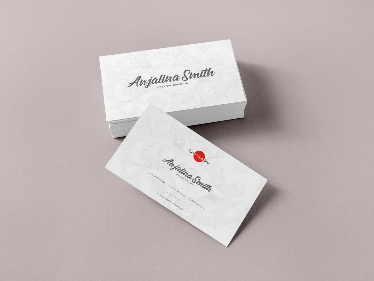Free Brand Business Cards Mockup Psd For Presentation Free Mockup Zonefree Mockup Zone
