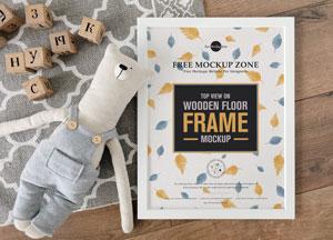 Free-Top-View-on-Wooden-Floor-Frame-Mockup-300.jpg